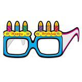 """12 lunettes de soirée en carton """"Happy Birthday"""""""