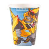 """8 gobelets en carton """"Transformers fantastiques"""""""