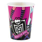 "8 gobelets en carton ""Monster High"""