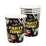 "6 gobelets en carton ""Party-Zone"""
