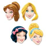 "Masques en carton ""Princesses Disney"" 4 pcs"