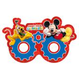 "6 masques en carton ""Le Club de Mickey Mouse"""