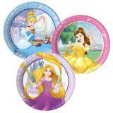 """8 assiettes en carton """"Disney - Jolies princesses"""""""