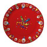 """10 assiettes en carton """"Carnaval en folie"""""""
