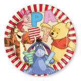 """8 assiettes en carton """"Adorable Winnie l'ourson"""""""