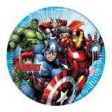"""8 assiettes en carton """"Avengers"""""""