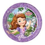 """8 assiettes en carton """"Princesse Sofia - Les îles mystérieuses"""""""