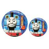 """8 assiettes en carton """"Thomas et ses amis"""""""