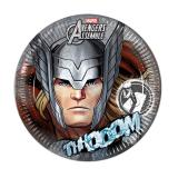 "8 assiettes en carton ""Ultimative Avengers - Thor"""