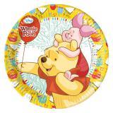 """8 assiettes en carton """"Winnie l'ourson et ses amis"""""""