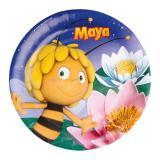 """8 assiettes en carton """"Maya l'abeille"""""""