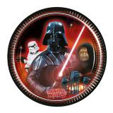 "8 assiettes en carton ""Classic Star Wars"""