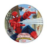 "8 assiettes en carton ""Spider-Man - Web Warriors"""
