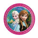 """8 assiettes en carton """"La Reine des neiges - Disney"""""""