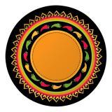 "8 assiettes en carton ""Fiesta Mexicana"""