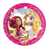 "8 assiettes en carton ""Mia and Me"""
