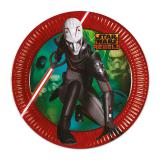 "8 assiettes en carton ""Star Wars - Rebels"""