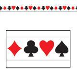 "Rouleau de rubalise ""Casino Life"" 6 m"