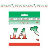 "Rouleau de rubalise ""Viva Italia"" 6 m"