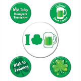 "Pin's de fête ""St. Patrick's Day"" 5 pcs."