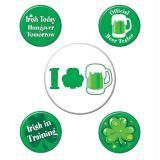 """Pin's de fête """"St. Patrick's Day"""" 5 pcs."""