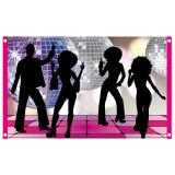 """Drapeau de fête """"Disco Dancer"""" 150 x 90 cm"""