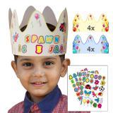 Couronne d'anniversaire pour enfant 9 pièces