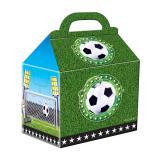 "4 boîtes surprises en carton ""Football"""