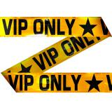 "Ruban de rubalise ""VIP ONLY"" 15 m"