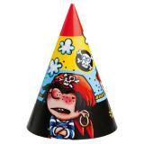 """6 chapeaux pointus """"Petit pirate"""""""