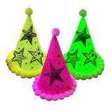 """3 chapeaux de fête """"Neon"""""""