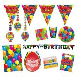 "Kit spécial fête ""Happy Birthday"" 59 pcs"
