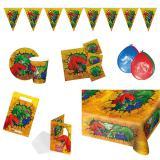 """Kit de fête """"Dinosaures aventuriers"""" 48 pcs."""