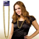 Collier de perles 38 cm 2 pcs. - doré