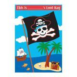 """8 pochettes surprises personnalisables """"Fête pirate"""""""