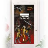 "Déco de porte personnalisable ""Star Wars Rebels"" 76 x 152 cm"