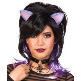 """Perruque """"Fantasy Kitty"""" avec oreilles"""