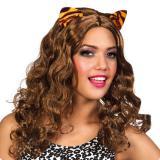 Perruque avec oreilles de tigre