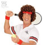 """Perruque """"Joueur de tennis"""" avec bandeau"""