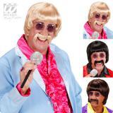 """Perruque et moustache avec lunettes """"Années 60"""""""