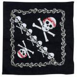 "Bandana de pirate ""Tête de mort"""