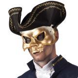 Masque de pirate avec chapeau
