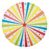 """6 sets de table """"Étoiles multicolores"""""""