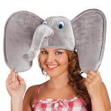 """Chapeau """"Éléphant"""" en peluche"""