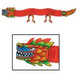 """Déco de salle """"Dragon asiatique XL"""" 1,8 m"""