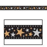 """Déco de salle pellicule de film """"Stars & étoiles"""" 46 cm x 7,6 m"""
