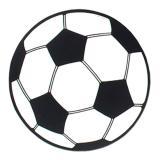 """Déco de salle """"Ballon de foot en carton"""" 34,5 cm"""