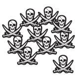 """10 décos de salle """"Tête de mort pirate"""""""