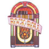 """Déco de salle """"Juke-box rétro"""" Rock 'n' Roll 88 cm"""