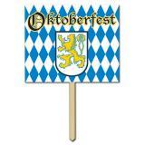"""Déco de salle panneau fête de la bière """"Oktoberfest"""" 61 cm"""